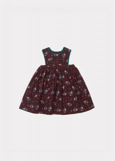 <img class='new_mark_img1' src='https://img.shop-pro.jp/img/new/icons14.gif' style='border:none;display:inline;margin:0px;padding:0px;width:auto;' />CARAMEL JUPITER BABY DRESS / BROWN THISTLE PRINT