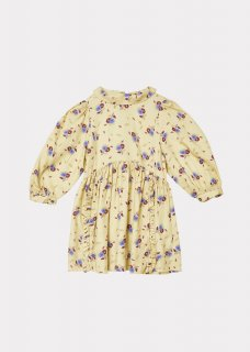 <img class='new_mark_img1' src='https://img.shop-pro.jp/img/new/icons14.gif' style='border:none;display:inline;margin:0px;padding:0px;width:auto;' />CARAMEL EARTH DRESS / YELLOW THISTLE PRINT