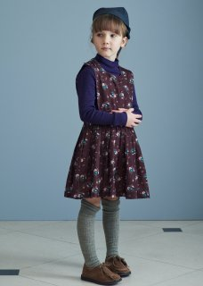 <img class='new_mark_img1' src='https://img.shop-pro.jp/img/new/icons14.gif' style='border:none;display:inline;margin:0px;padding:0px;width:auto;' />CARAMEL JUPITER DRESS / BROWN THISTLE PRINT