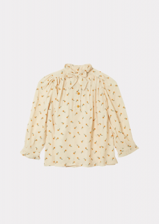 <img class='new_mark_img1' src='https://img.shop-pro.jp/img/new/icons14.gif' style='border:none;display:inline;margin:0px;padding:0px;width:auto;' />CARAMEL FOLSOM BLOUSE / TOFFEE DITSY FLOWER PRINT