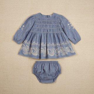 <img class='new_mark_img1' src='https://img.shop-pro.jp/img/new/icons14.gif' style='border:none;display:inline;margin:0px;padding:0px;width:auto;' />Apolina Kari dress set / Bandana floral Mist