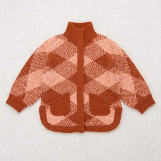 <img class='new_mark_img1' src='https://img.shop-pro.jp/img/new/icons14.gif' style='border:none;display:inline;margin:0px;padding:0px;width:auto;' />Misha and Puff - Plaid Boucle Poncho