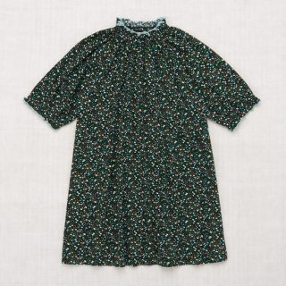 <img class='new_mark_img1' src='https://img.shop-pro.jp/img/new/icons14.gif' style='border:none;display:inline;margin:0px;padding:0px;width:auto;' />Misha and Puff - Printed Ruffle Dress / Emerald Mini Floral