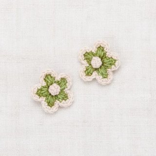 <img class='new_mark_img1' src='https://img.shop-pro.jp/img/new/icons14.gif' style='border:none;display:inline;margin:0px;padding:0px;width:auto;' />Misha and Puff - Medium flower clip set / Spring