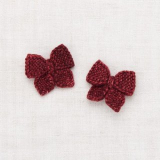 <img class='new_mark_img1' src='https://img.shop-pro.jp/img/new/icons14.gif' style='border:none;display:inline;margin:0px;padding:0px;width:auto;' />Misha and Puff - Baby puff bow set / Cranberry