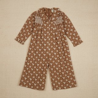 <img class='new_mark_img1' src='https://img.shop-pro.jp/img/new/icons14.gif' style='border:none;display:inline;margin:0px;padding:0px;width:auto;' />Apolina Dahlia jumpsuit / Loaf Tin Floral Fawn