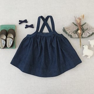 <img class='new_mark_img1' src='https://img.shop-pro.jp/img/new/icons14.gif' style='border:none;display:inline;margin:0px;padding:0px;width:auto;' />SOOR PLOOM - Eloise Pinafore / Drapey Denim