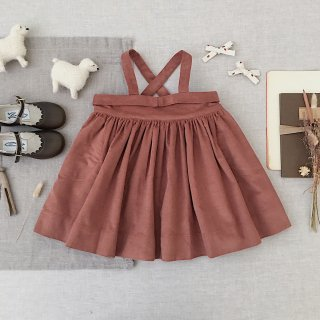 <img class='new_mark_img1' src='https://img.shop-pro.jp/img/new/icons14.gif' style='border:none;display:inline;margin:0px;padding:0px;width:auto;' />SOOR PLOOM - Enola Pinafore / Henna