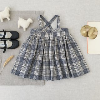 <img class='new_mark_img1' src='https://img.shop-pro.jp/img/new/icons14.gif' style='border:none;display:inline;margin:0px;padding:0px;width:auto;' />SOOR PLOOM - Enola Pinafore / Vintage Plaid