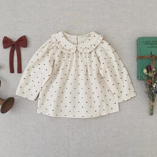 <img class='new_mark_img1' src='https://img.shop-pro.jp/img/new/icons14.gif' style='border:none;display:inline;margin:0px;padding:0px;width:auto;' />SOOR PLOOM - Astrid Blouse / Swiss Dot
