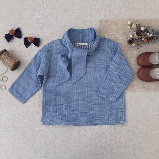 <img class='new_mark_img1' src='https://img.shop-pro.jp/img/new/icons14.gif' style='border:none;display:inline;margin:0px;padding:0px;width:auto;' />SOOR PLOOM - Ivy Blouse / Chambray
