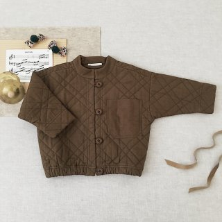 <img class='new_mark_img1' src='https://img.shop-pro.jp/img/new/icons14.gif' style='border:none;display:inline;margin:0px;padding:0px;width:auto;' />SOOR PLOOM - Quilted Jacket / Moss