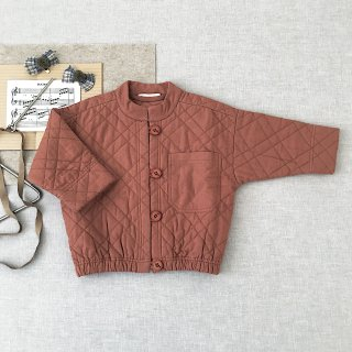 <img class='new_mark_img1' src='https://img.shop-pro.jp/img/new/icons14.gif' style='border:none;display:inline;margin:0px;padding:0px;width:auto;' />SOOR PLOOM - Quilted Jacket / Henna