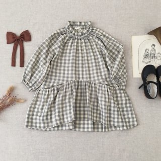 <img class='new_mark_img1' src='https://img.shop-pro.jp/img/new/icons14.gif' style='border:none;display:inline;margin:0px;padding:0px;width:auto;' />SOOR PLOOM - Edith Dress / Gingham