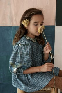 <img class='new_mark_img1' src='https://img.shop-pro.jp/img/new/icons14.gif' style='border:none;display:inline;margin:0px;padding:0px;width:auto;' />Bonjour Tunique tunic / Small blue check