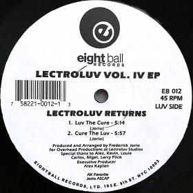 Lectroluv / Lectroluv Vol.4 EP (Lectroluv Returns) (12