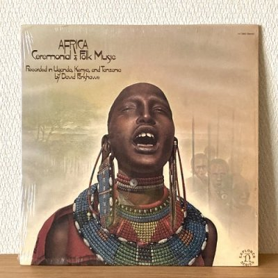 <img class='new_mark_img1' src='https://img.shop-pro.jp/img/new/icons50.gif' style='border:none;display:inline;margin:0px;padding:0px;width:auto;' />Africa - Ceremonial & Folk Music - Recorded in Uganda, Kenya, and Tanzania by David Fanshawe