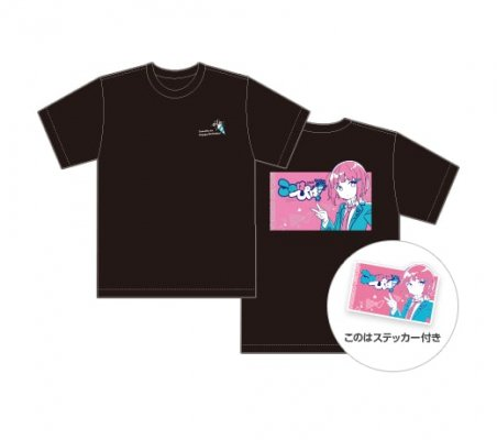 このはぴば!2020 オリジナルTシャツ(ブラック・ホワイト)
