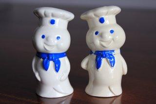 Pillsbury ドゥボーイ ソルト&ペッパーシェイカー 陶器製