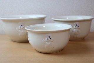 ドゥボーイ ミキシングボウル 3サイズセット 陶器製