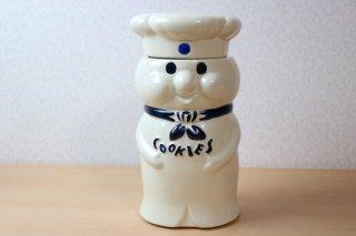 Pillsbury ドゥボーイ クッキージャー 陶器製