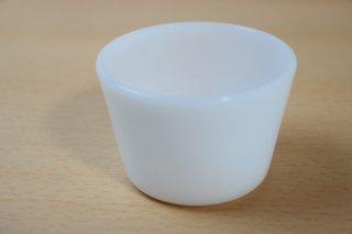 グラスベイク ディープカスタードカップ ホワイト