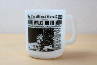 グラスベイク MAN WALKS ON THE MOON マグ
