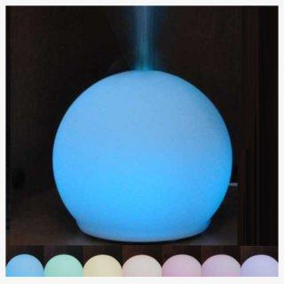 【送料無料】ガラスアロマディフューザー 〜七色に変わり、お好きなカラーも維持〜