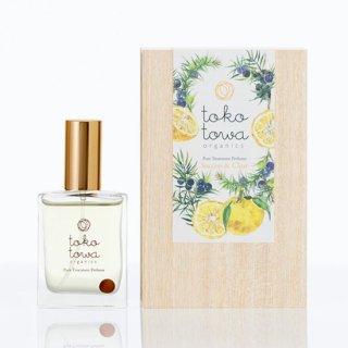 【送料無料】 ピュアトリートメントパフューム イエロー -日本の柚子とジュニパーの香り- ブレンドに合う香りのサンプル付き