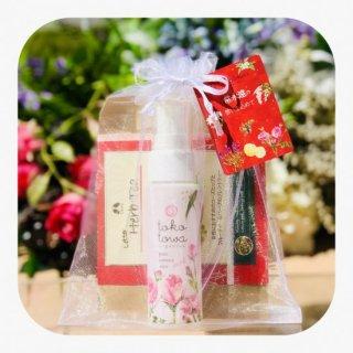 美肌のギフトセット 〜ローズと月桃の香りのミスト化粧水&ハーブティー〜