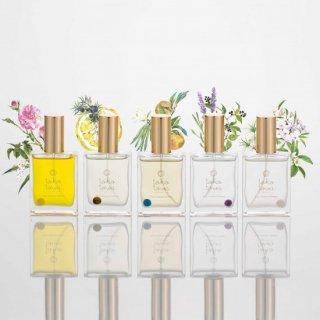 【送料無料】 選べるオーガニックピュアトリートメントパフューム ローズ 柚子 バニラ ラベンダー ネロリとジャスミン