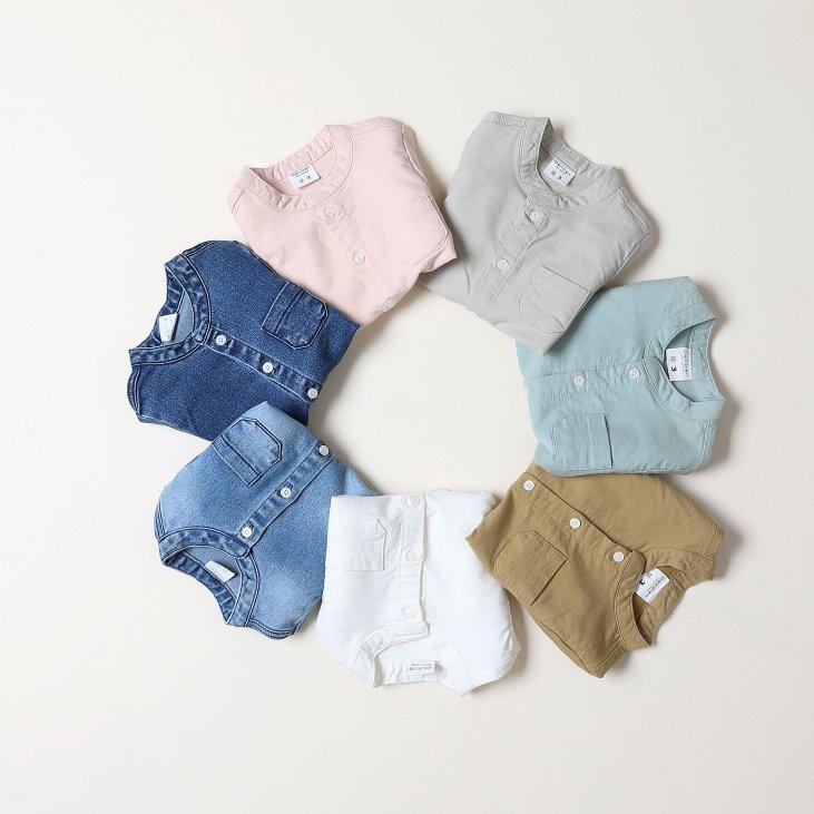 春新作/DEN)クラッカーシャツ【お取り寄せ】
