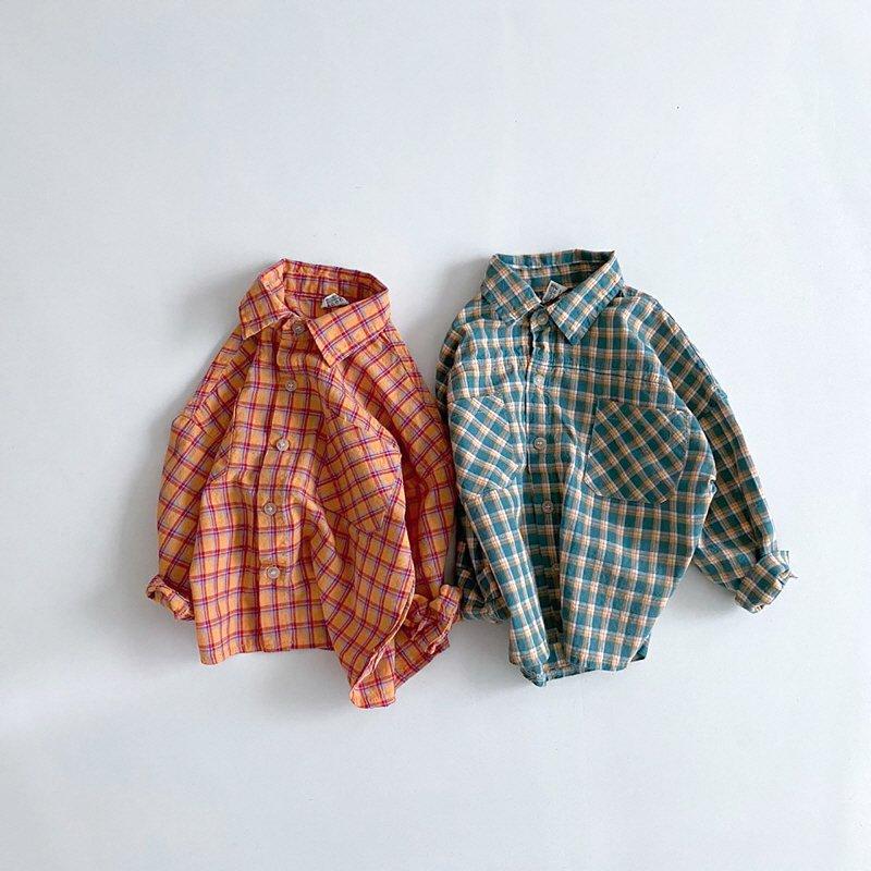 春新作/(BRB)ベリーチェックシャツ【お取り寄せ】
