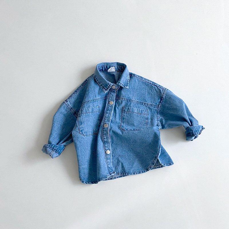 春新作/(BRB)デニムシャツ【お取り寄せ】