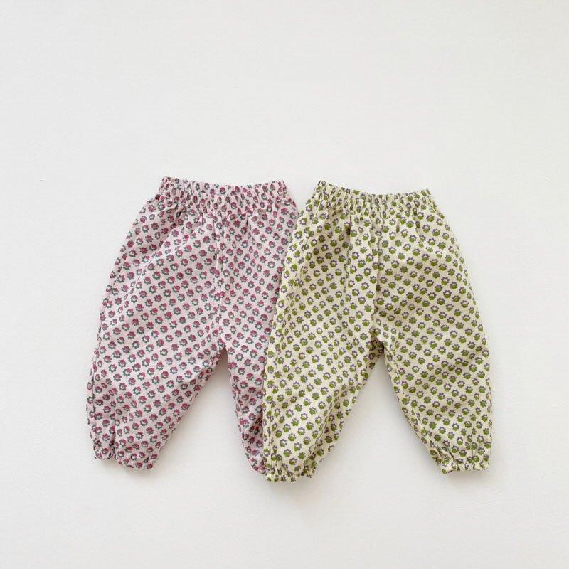 春新作/(OB)ミニフラワーパンツ【お取り寄せ】