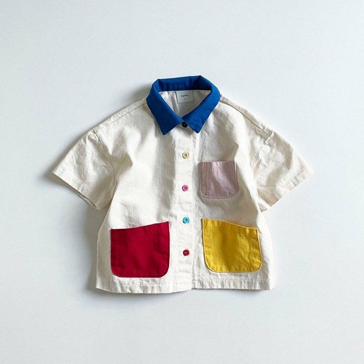 夏新作/(DGR)おしゃれカラーシャツ【お取り寄せ】