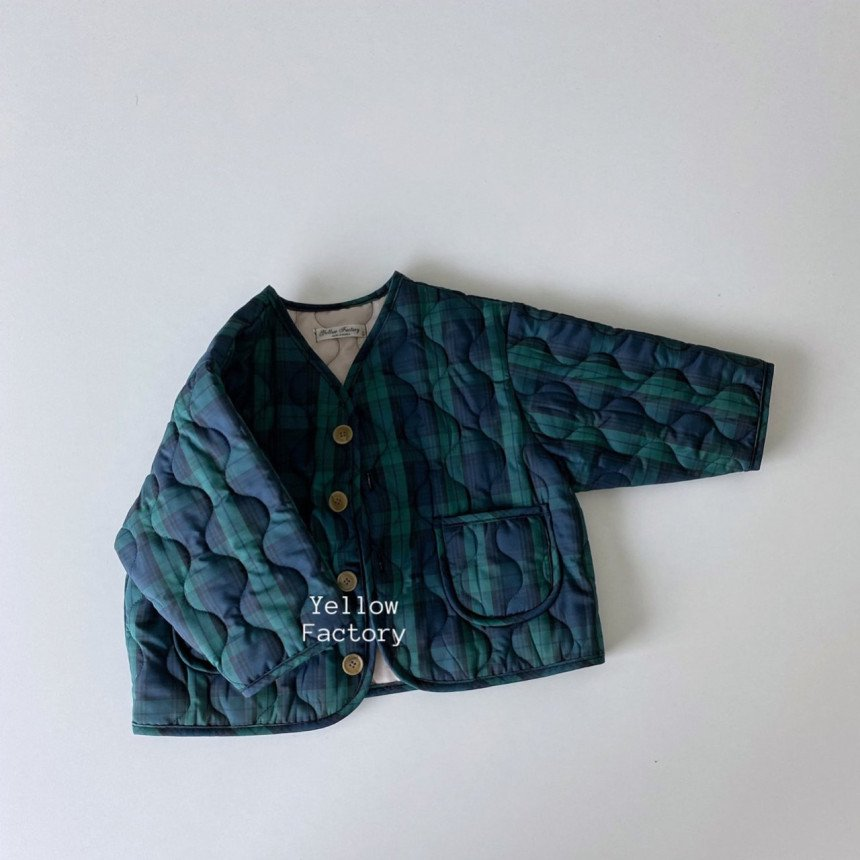 (YYR)キルティングチェックジャケット【お取り寄せ】