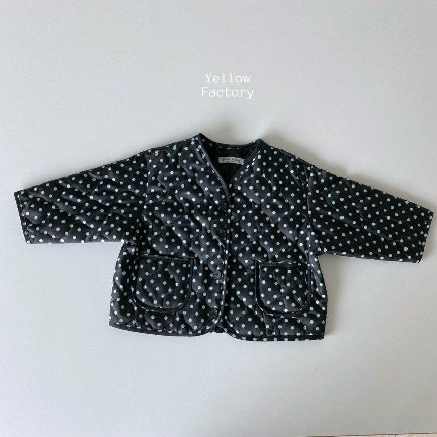 (YYR)キルティングドットジャケット【お取り寄せ】