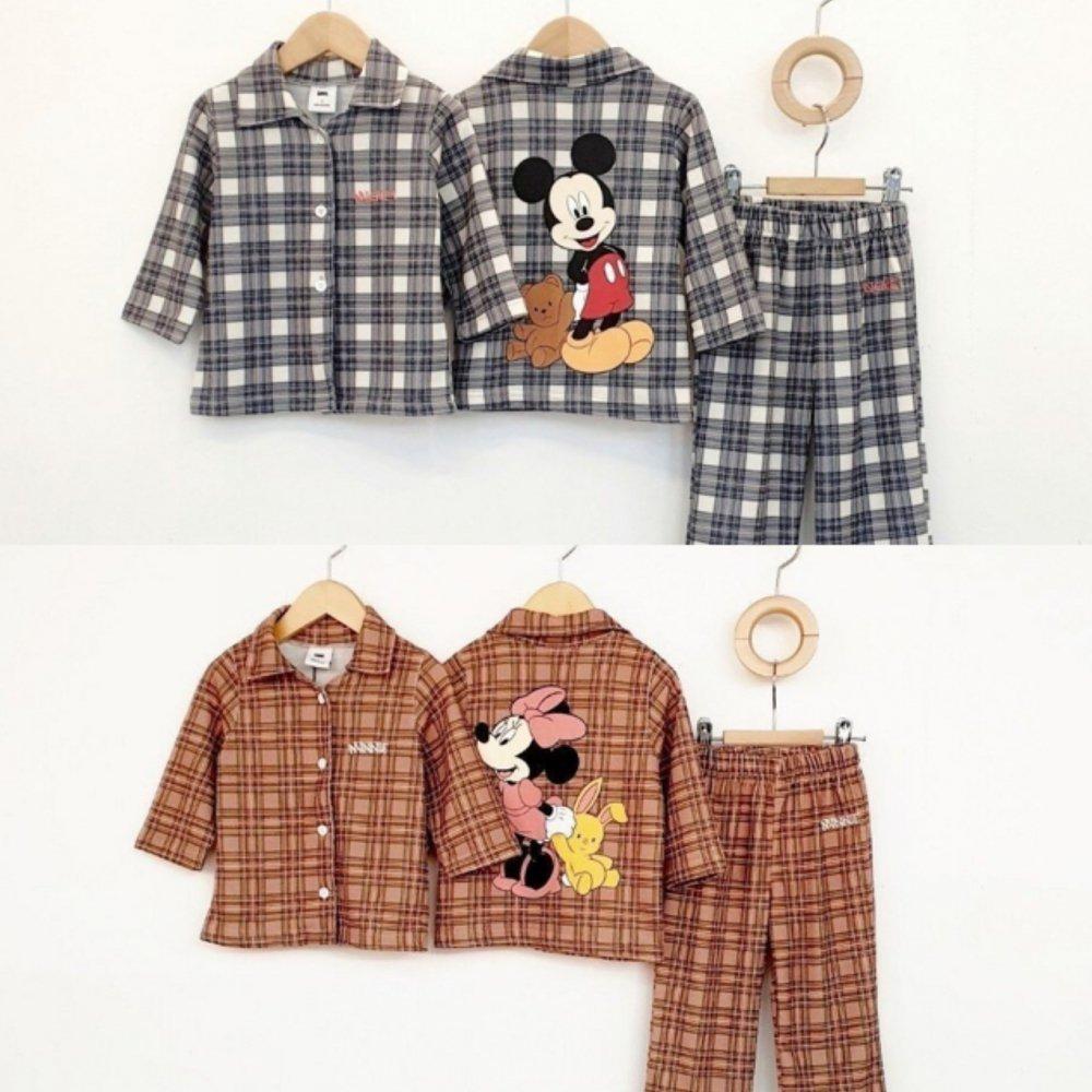 (MI)ディズニーチェックパジャマ【お取り寄せ】
