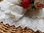 LT017 白刺繍カットワーク