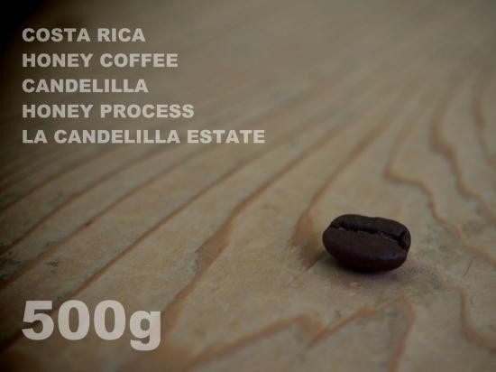 コスタリカ ハニーコーヒー カンデリージャ ハニー・プロセス ラ・カンデリージャ農園 【500g】