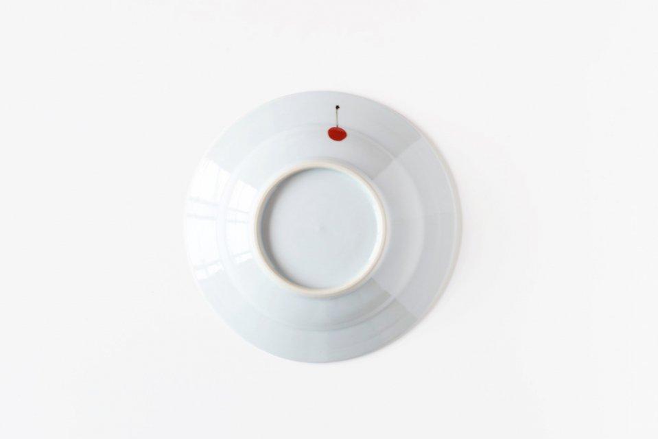 日下華子/さくらんぼ/5.5寸皿(直径16.5cm)