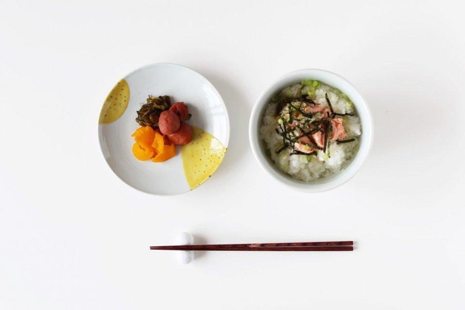 日下華子/洋なし/5寸皿(直径15.5cm)