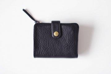 CINQ/2つ折り財布(ブラック)