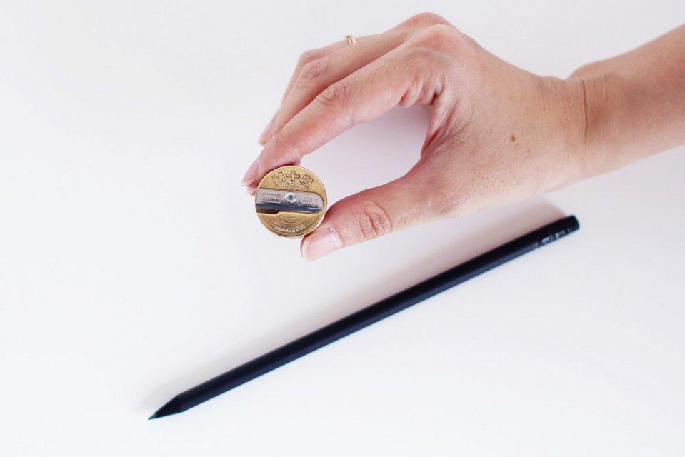 ドイツ/M+R社/真鍮の鉛筆削り(シャープナー)