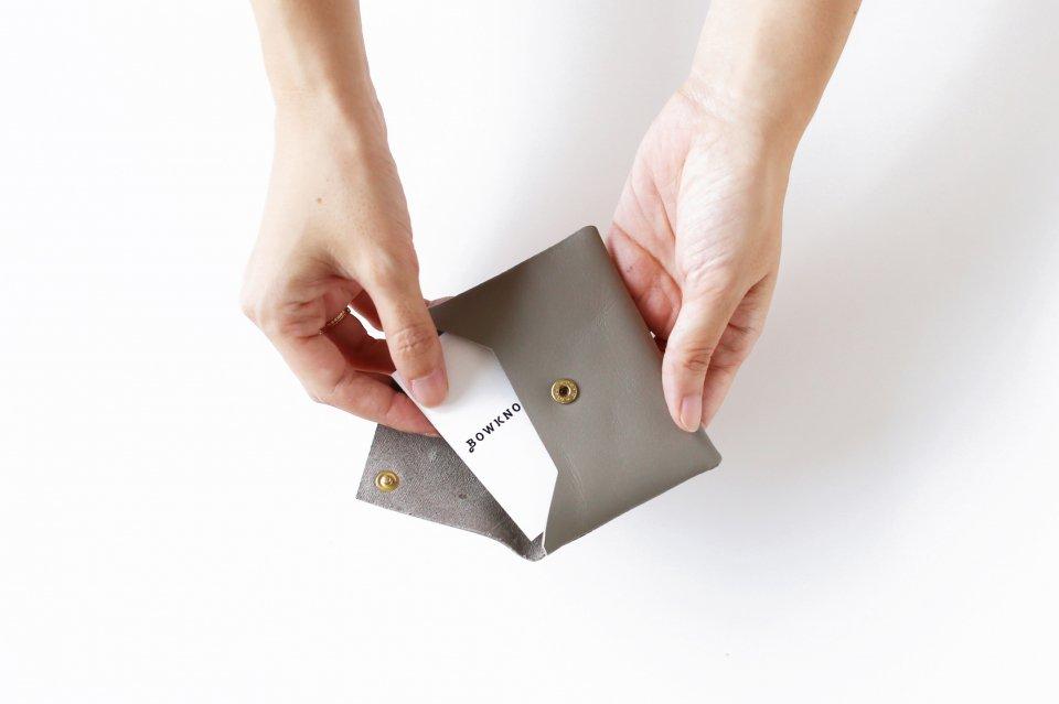 CINQ/カードケース(グレー)