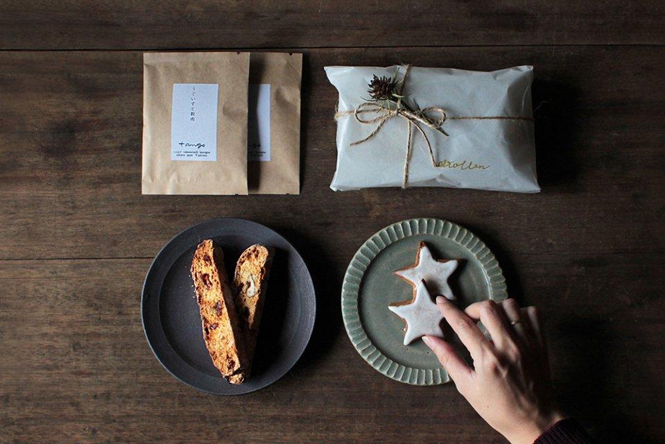 【12月15日出荷分】うぐいすと穀雨/クリスマスのシュトレンBOX