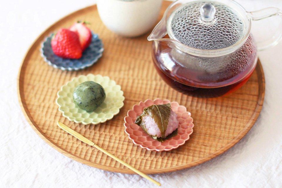 松平彩子/豆皿/ピンク