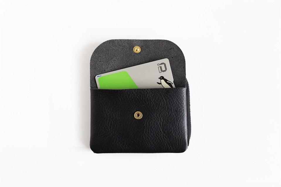 CINQ/小さめの財布(ブラック)
