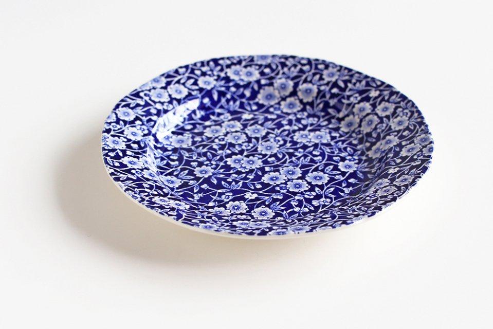 Burleigh/CALICO/プレート(ブルー・21.5cm)